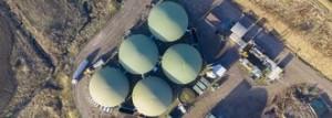 Биогазовые установки вид сверху